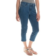 NYDJ Svetlana Denim Capris (For Women) in Palermo Wash - Overstock