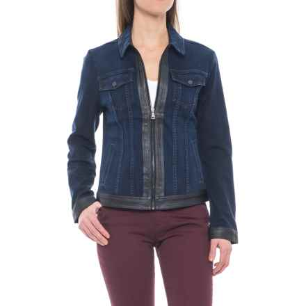 NYDJ Veronica Denim Jacket (For Women) in Paris Nights - Closeouts