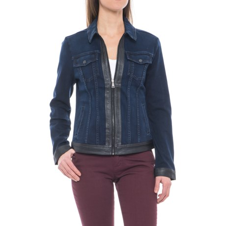 NYDJ Veronica Denim Jacket (For Women) in Paris Nights
