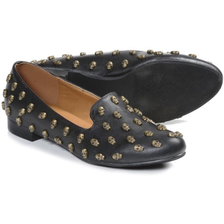 NYLA Skullsies Shoes (For Women) in Black