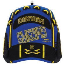 O'Brien Flipside 2 Towable Tube in Blue/Black/Yellow - Closeouts