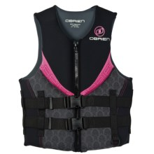 O'Brien Impluse Neo PFD Life Jacket - USCG Approved, Type III (For Women) in Pink - Closeouts