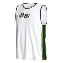 O'Neill 24-7 Tech Tank Top - UPF 50+ (For Men) in White/Grass/Black - Closeouts