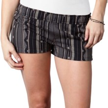 O'Neill Airwaves Shorts (For Women) in Charcoal - Closeouts