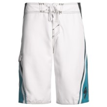 O'Neill Grinder Boardshorts (For Men) in White - Closeouts