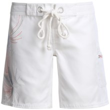 O'Neill Riddle Boardshorts (For Women) in White - Closeouts