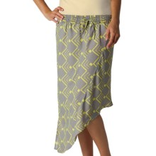O'Neill Slanted Skirt (For Women) in Grey - Closeouts