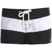 O'Neill Tropical Boardshorts (For Women) in Black - Closeouts