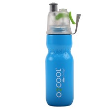 O2COOL Mist 'N Sip Squeeze Sport Bottle - 24 fl.oz. in Blue - Closeouts