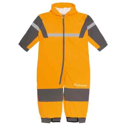 Oaki Rain Bodysuit - Waterproof (For Kids) in Yellow - Closeouts