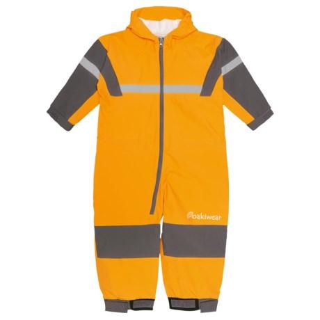 Oaki Rain Bodysuit - Waterproof (For Kids) in Yellow