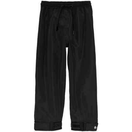 Oaki Rain Pants - Waterproof (For Boys) in Black - Closeouts