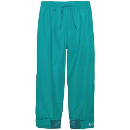 Oaki Rain Pants - Waterproof (For Girls) in Glacier Blue - Closeouts