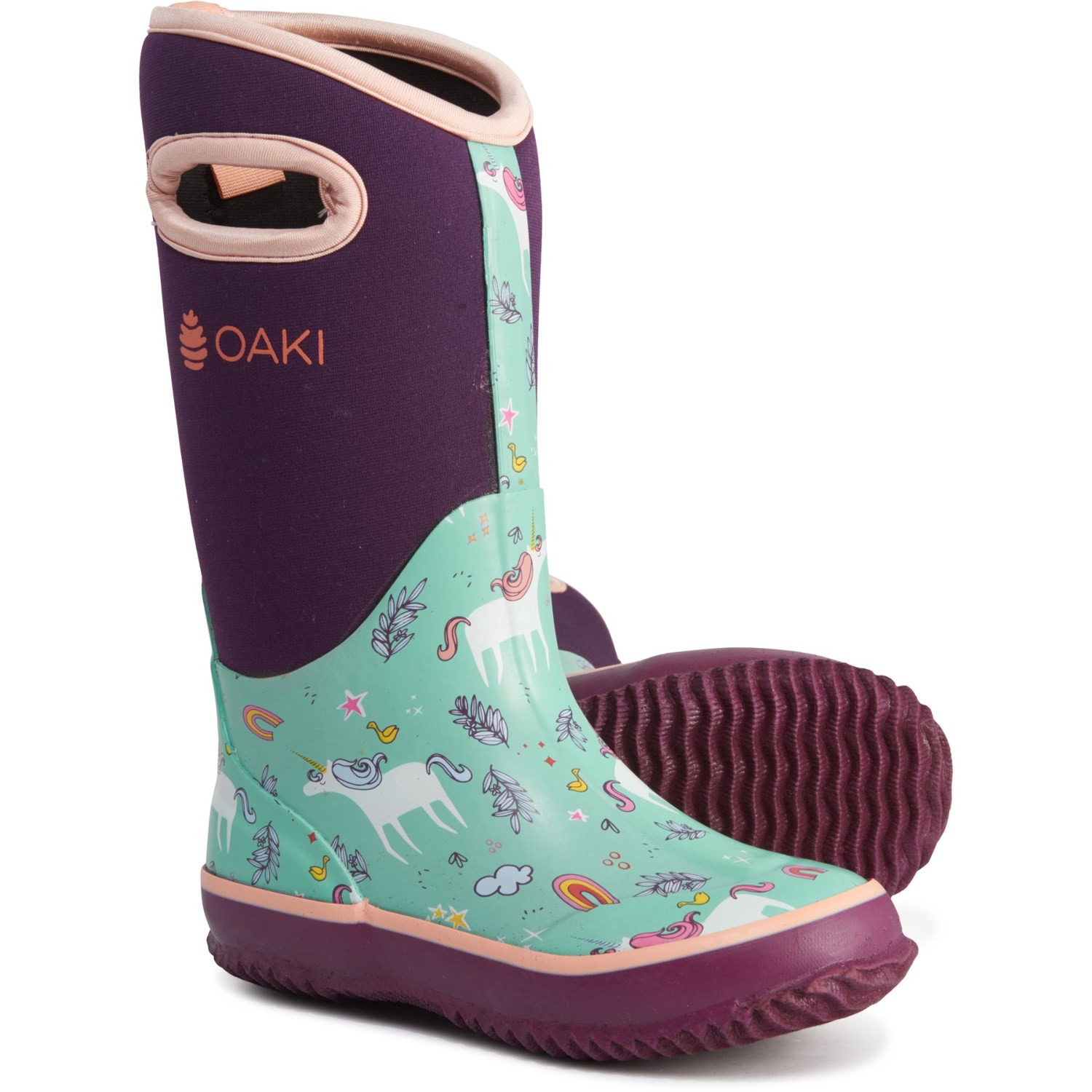 de6b499d956a4 Oaki Snooty Unicorn Neoprene Boots (For Girls) - Save 25%