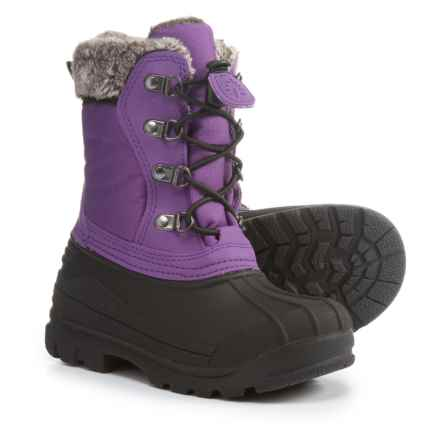 Oaki Snow Boots - Waterproof, Insulated (For Girls) in Plum Purple - Closeouts