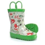 Oakiwear Timberland Critters Rain Boots - Waterproof (For Boys)
