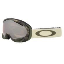 Oakley A-Frame 2.0 Signature Series Ski Goggles - Iridium® Lens in Gb Signature/Black Iridium - Closeouts