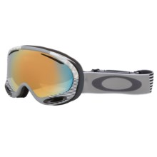 Oakley A-Frame 2.0 Signature Series Ski Goggles - Iridium® Lens in Sw Signature White/24K Iridium - Closeouts