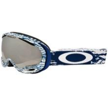 Oakley A Frame 2.0 Ski Goggles - Prizm Lens in Sheridan Navy/Black Prizm - Closeouts
