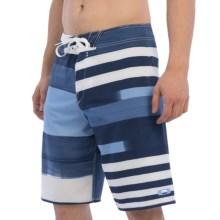 "Oakley Antenna Boardshorts - 21"" in Navy Blue - Closeouts"