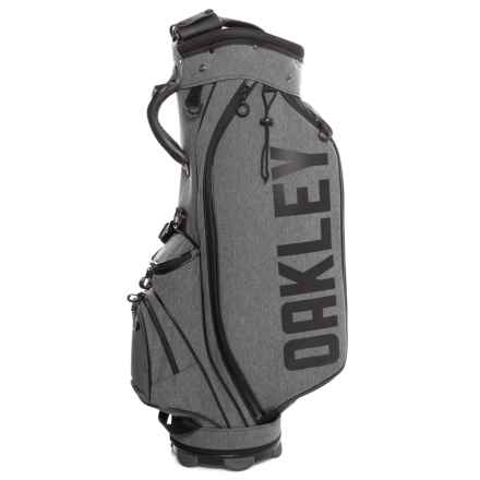 Oakley BG Golf Bag 11.0 in Black Heather - Closeouts