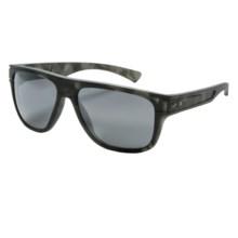 Oakley Breadbox Matte Tortoise Sunglasses in Matte Black Tortoise/Black Iridium - Closeouts
