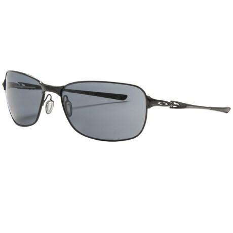 Oakley C Wire Sunglasses in Polished Black/Grey