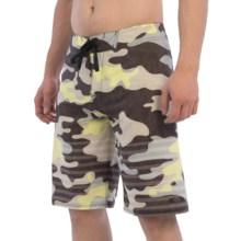 "Oakley Camo Boardshorts - 21"" (For Men) in Dark Sienna - Closeouts"