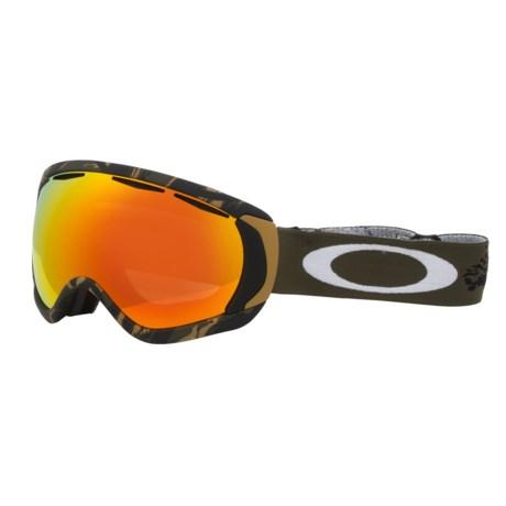 Oakley Canopy Signature Series Snowsport Goggles - Iridium® Lens in Danny Kass Signature/Fire Iridium