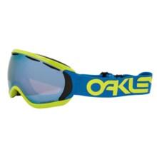 Oakley Canopy Ski Goggles - Prizm Lens in Factory Pilot Retina Blue/Sapphire Prizm - Closeouts