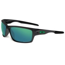Oakley Canteen Sunglasses - Polarized Iridium® Lenses in Black Ink/Jade Iridium - Closeouts