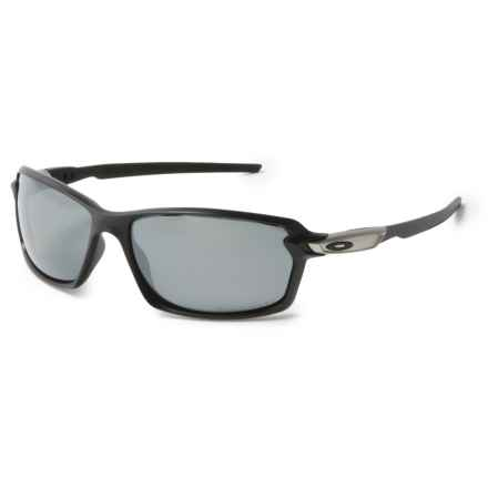 Oakley Carbon Shift Sunglasses - Polarized, Iridium® Lens in Matte Black/Black - Overstock