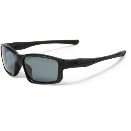 4c25444e0a Oakley Chainlink Covert Sunglasses - Polarized Plutonite® Lenses (For Men)  in Matte Black
