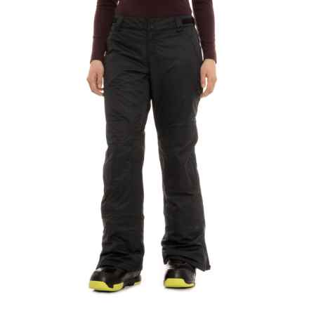 Oakley Charlie BioZone Ski Pants - Waterproof, Insulated (For Women) in Blackout - Closeouts