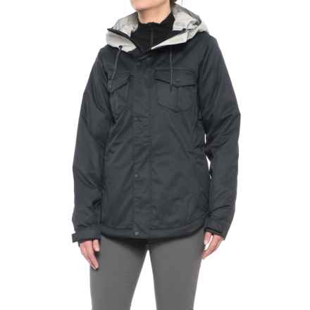 Oakley Charlie BioZone Snowboard Jacket 2.0 - Waterproof, Insulated (For Women) in Blackout - Closeouts