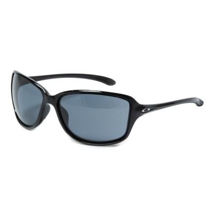 3cf8a76039 Oakley Cohort Sunglasses (For Women) in Metallic Black Grey - Closeouts