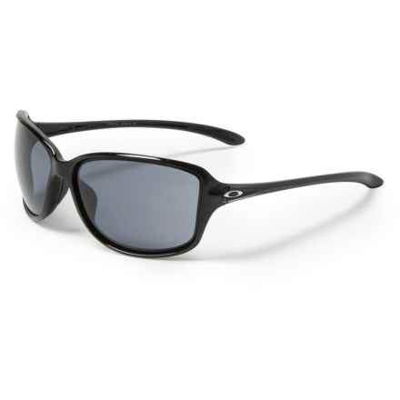 6a59b6705b29f Oakley Cohort Sunglasses - Plutonite® Lenses (For Women) in Metallic  Black Grey