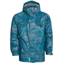 Oakley Corked Ski Jacket - Waterproof (For Men) in Legion Blue/Foil - Closeouts