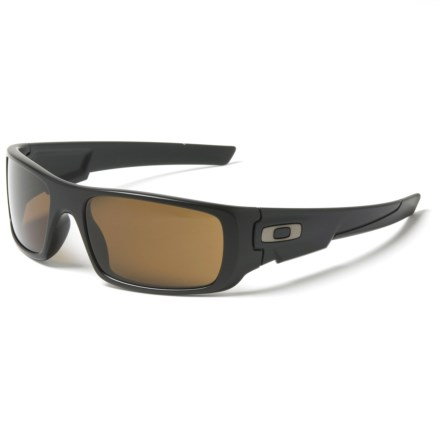 08a2cb74c12 Oakley Crankshaft Sunglasses - Polarized Iridium® Lenses (For Men) in Matte  Black