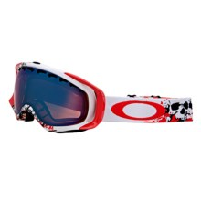 Oakley Crowbar Signature Series Snowsport Goggles - Iridium Lens in Seth Morrison Risk Taker/G30 Iridium - Closeouts