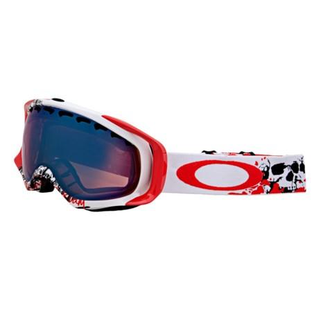 Oakley Crowbar Signature Series Snowsport Goggles - Iridium Lens in Seth Morrison Risk Taker/G30 Iridium
