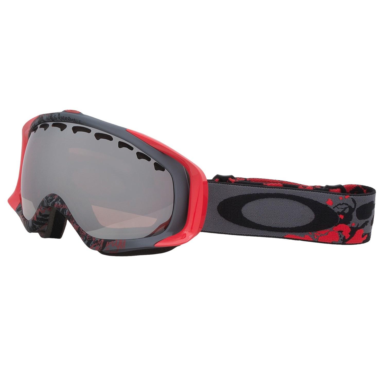 oakley hi yellow goggles  snowsport goggles