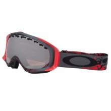Oakley Crowbar Signature Series Snowsport Goggles - Iridium Lens in Seth Risk Taker/Black Rose - Closeouts