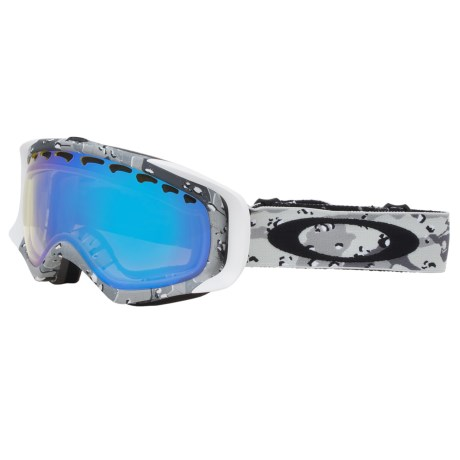 Oakley Crowbar Signature Series Snowsport Goggles - Iridium Lens in Tanner Hall High Grade/H.I. Yellow