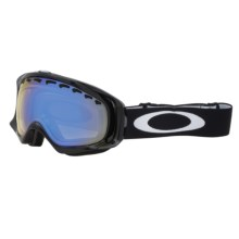 Oakley Crowbar Snow Snowsport Goggles in Jet Black/H.I. Yellow - Closeouts