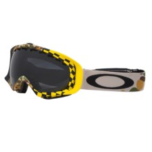 Oakley Crowbar Snowsport Goggles in Flight Series Camo/Dark Grey - Closeouts