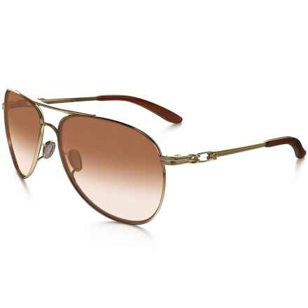 Oakley Daisy Chain Sunglasses (For Women) in Polished Gold/Dark Brown Gradient - Closeouts