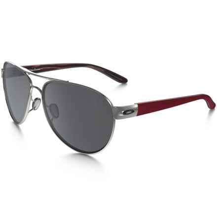 Oakley Disclosure Sunglasses - Iridium® Lenses (For Women) in Polished Black Ice/Black Iridium - Closeouts