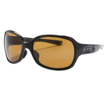 Oakley Drizzle Sunglasses - Polarized (For Women) in Brown Sugar/Sunset/Bronze - Closeouts