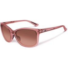 Oakley Drop In Sunglasses (For Women) in Rose Quartz/G40 Black Gradient - Closeouts